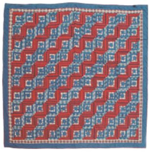 Patch Magic Log Cabin King Quilt