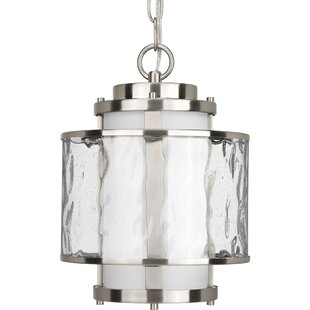 Triplehorn Modern  1-Light Pendant By Alcott Hill Outdoor Lighting