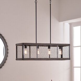 Williston Forge Kronos 4-Light Kitchen Island Pendant