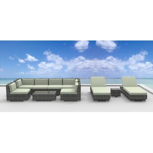 Mckenna 10 Piece Sectional Set with Cushions