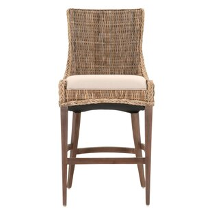Broadway Upholstered Bar Stool (Set of 2) Highland Dunes