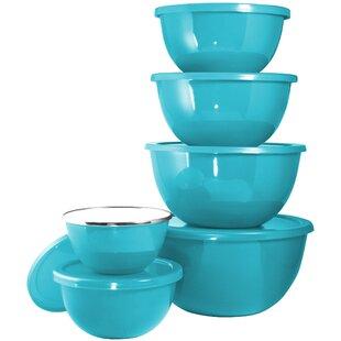 Calypso Basic 12 Piece Steel Mixing Bowl Set