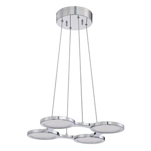 Kendal Lighting Milan 4-Light Pendant