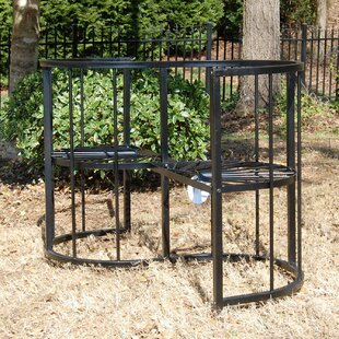 Griffith Creek Designs Classic Conversation Steel Garden Bench