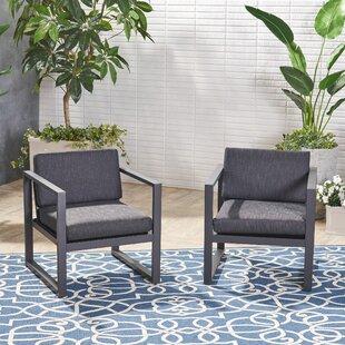 Ivy Bronx Maud Patio Chair with Cushions ..