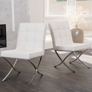 Best Reviews Somerville Upholstered Dining Chair (Set of 2) by Orren Ellis Reviews (2019) & Buyer's Guide