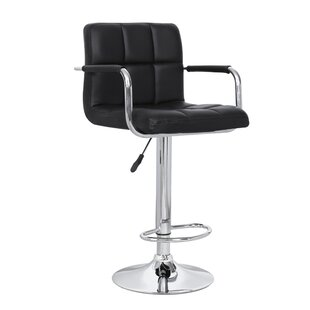 Read Reviews Adjustable Height Swivel Bar Stool by AC Pacific