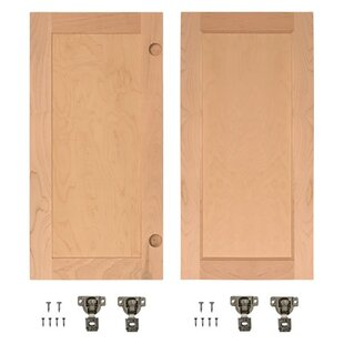 Solid Wood Panelled Cherry Slab Interior Door? by InvisiDoor
