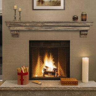 Celeste Fireplace Shelf Mantel ByPearl Mantels