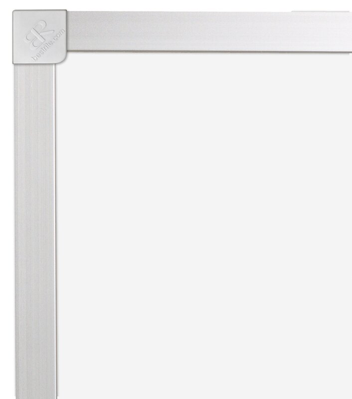 Thermal-Fused Wall Mounted Whiteboard, 3' H x 4' W