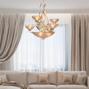 Bloomsbury Market Nebeker 6-Light Shaded Chandelier