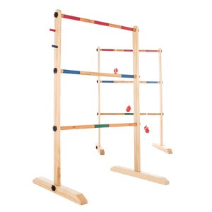 Double Wooden Ladder Ball