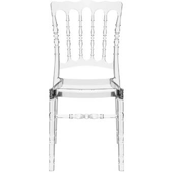 Darby Home Co Laszlo Stacking Patio Dining Chair With Cushion Wayfair