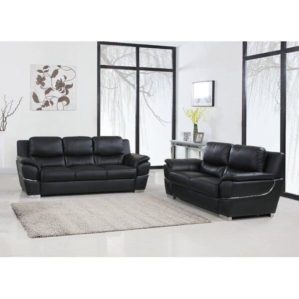 Latitude Run Dempsy 2 Piece Living Room Set Reviews Wayfair