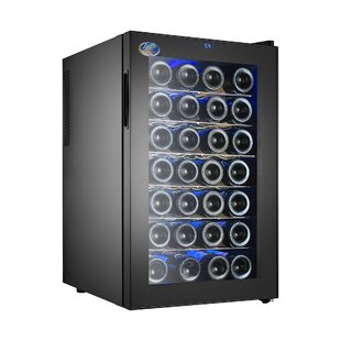 28 Bottle Thermoelectric Single Zone Freestanding Wine Cooler