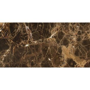 """Emperador Spanish 12"""" x 24"""" Marble Field Tile by"""