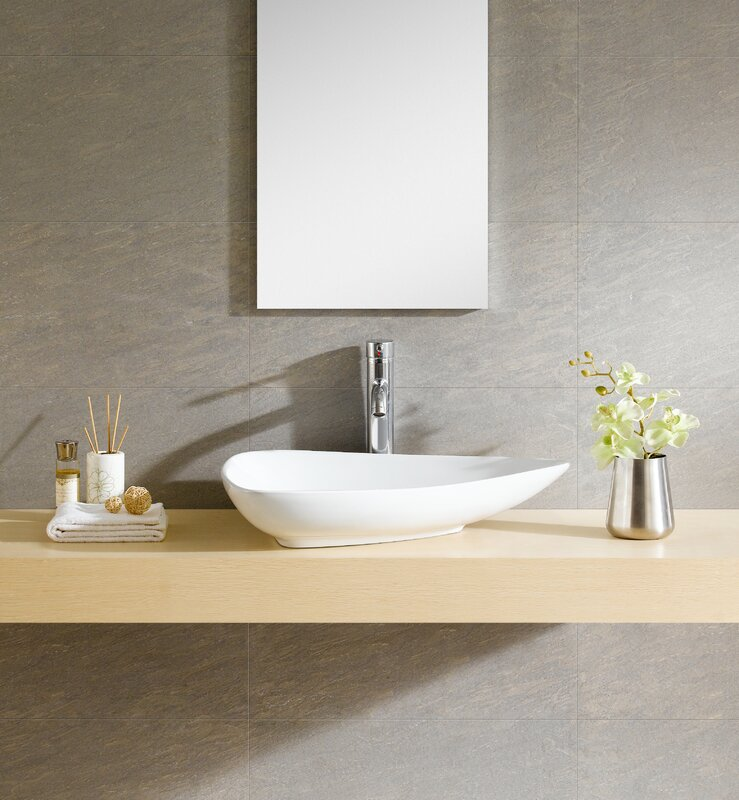 wayfair bathroom sinks. Modern Ceramic Specialty Vessel Bathroom Sink Fine Fixtures