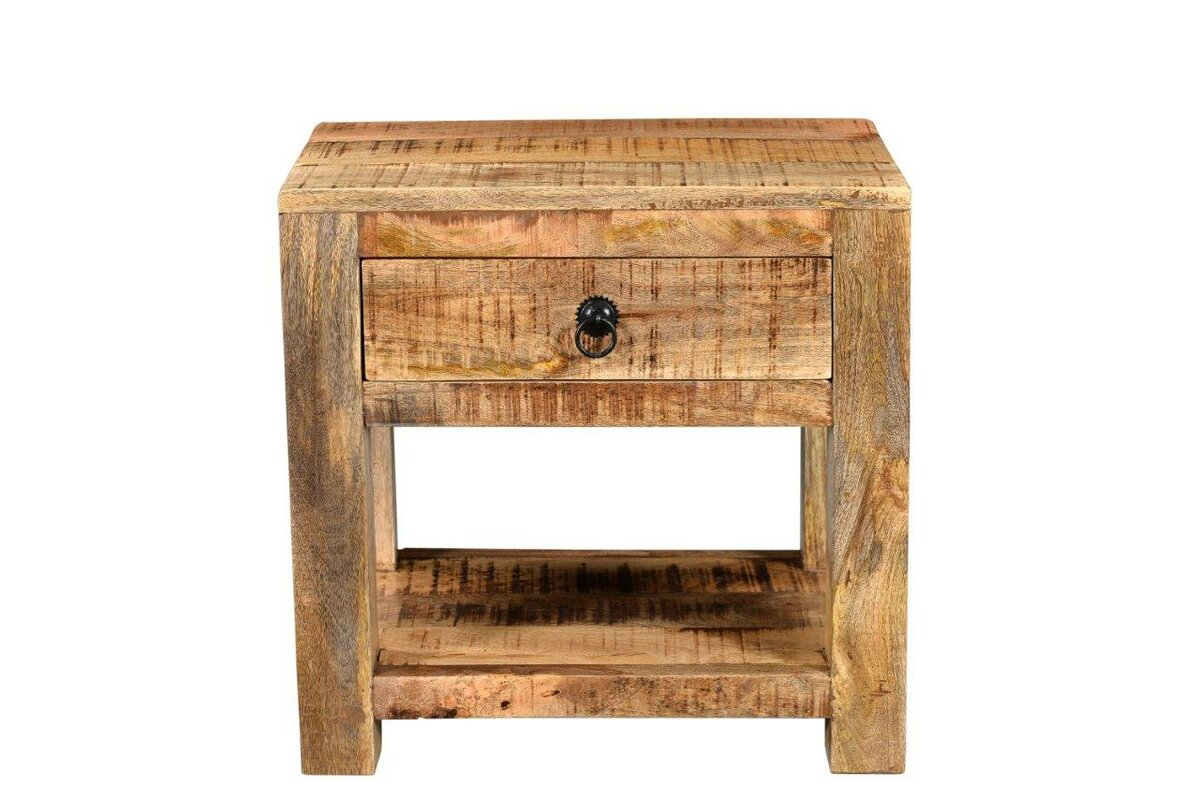 Good Surat Mango Wood End Table