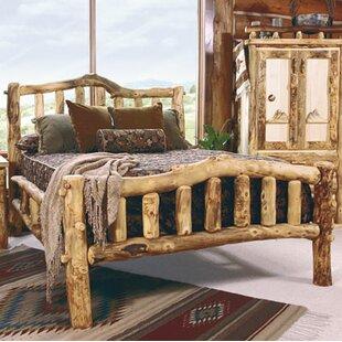 Mountain Woods Furniture Aspen Heirloom Snowload II Platform Bed