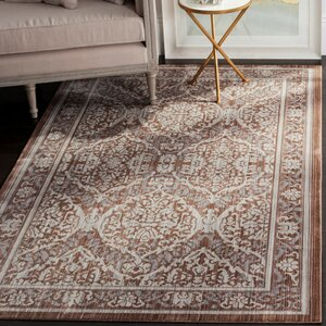 Abdoulaye Gray/Brown Area Rug