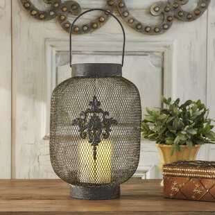 Check Prices Phalangere Metal Lantern By Lark Manor