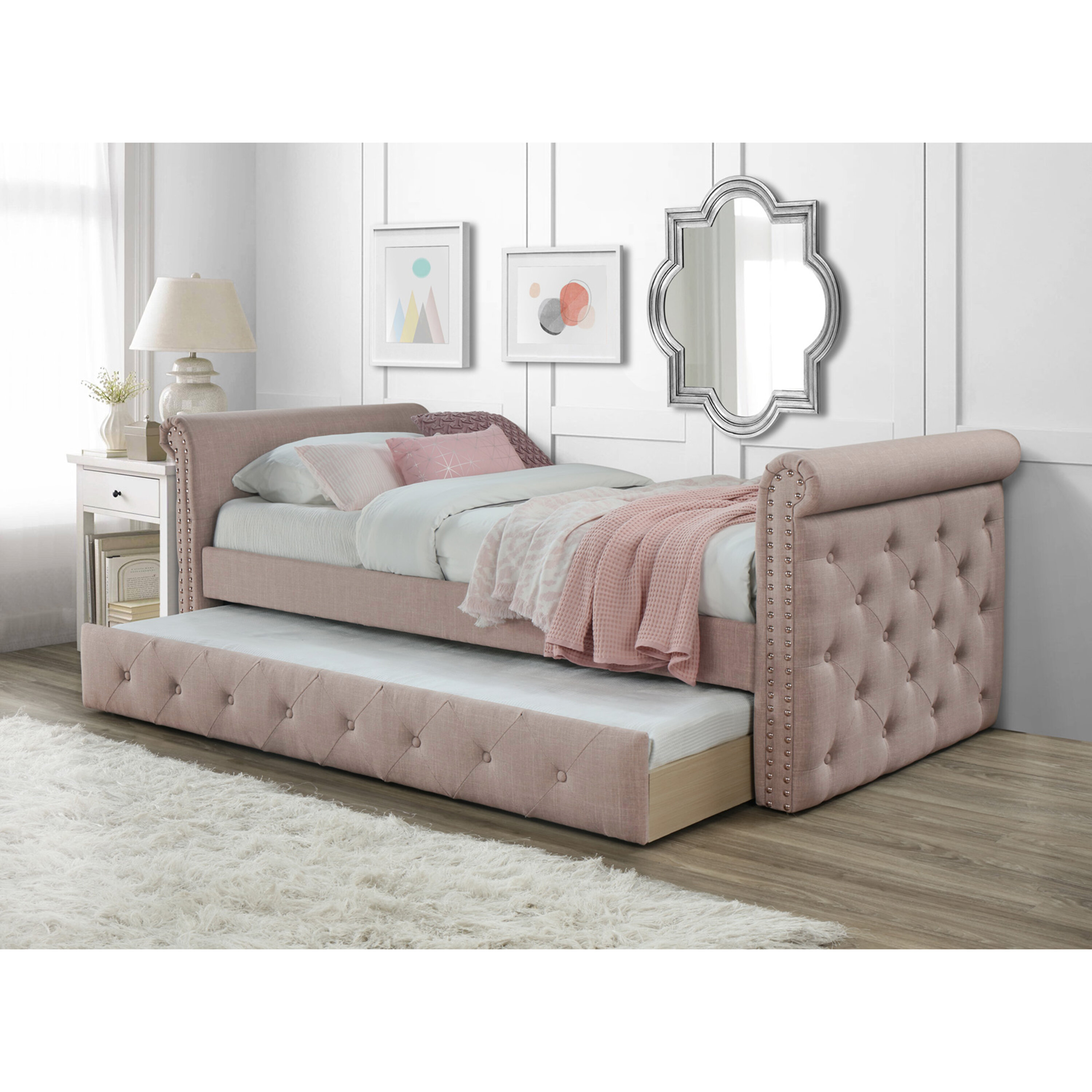 Seddon Twin Daybed With Trundle Reviews