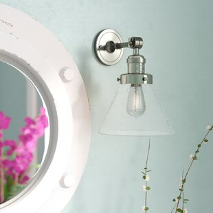 Gautreaux 1-Light Bath Sconce by Breakwater Bay