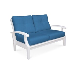 Cayman Deep Seating Loveseat with Cushions By Douglas Nance