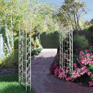 Griffith Creek Designs Crescent Steel Arbor