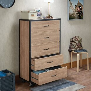 Milstead 5 Drawer Chest