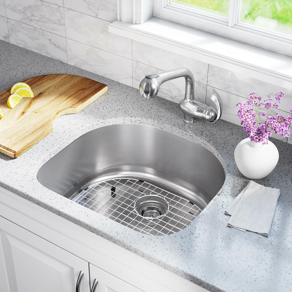 2421 18 stainless steel 24 x 21 undermount kitchen sink