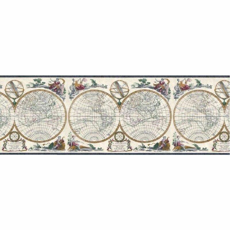 Canora Grey Ilana 15 L X 10 25 W Wallpaper Border Wayfair
