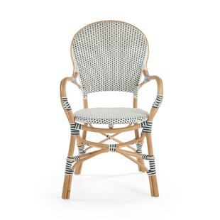 Tawanna Rattan Arm Chair (Set Of 2) by Bayou Breeze #1