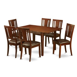 Milan 7 Piece Dining Set by Wooden Import..
