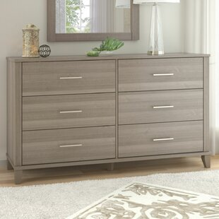 Top Reviews Valencia Collection by Laurel Foundry Modern Farmhouse 6 Drawer Double Dresser by Ebern Designs