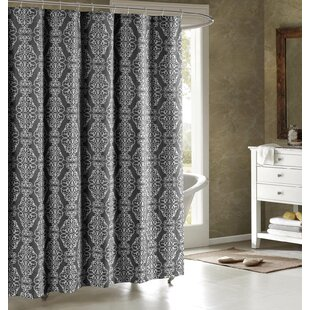 Online Reviews Adisson Printed Shower Curtain ByBath Studio