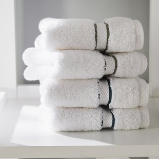 Patric 6 Piece 100% Cotton Towel Set