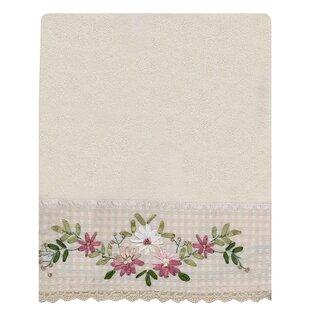 Blaze Emboidered 100% Cotton Bath Towel