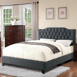 Jennings Way Queen Upholstered Platform Bed by House of Hampton
