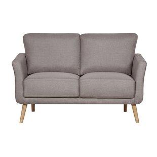 Edelen Modern Fabric Loveseat