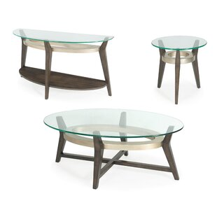 Brayden Studio Wroblewski 3 Piece Coffee Table Set