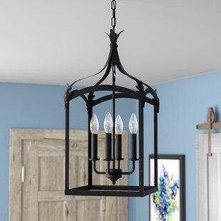 Darby Home Co Forsyth 4-Light Lantern Pendant