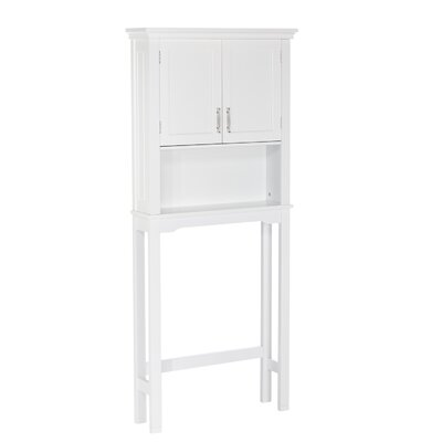 Andover Mills Reichman 27.3 W x 64.2 H Over the Toilet Storage Finish: White