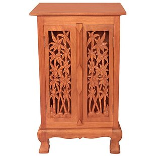 Acacia 2 Door Storage Accent Cabinet by EXP D?cor