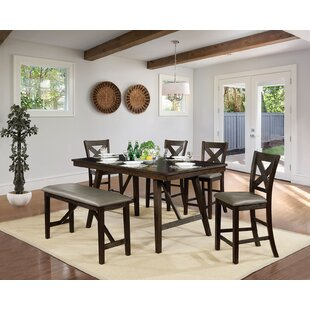 Floodwood 6 Piece Counter Height Dining Set