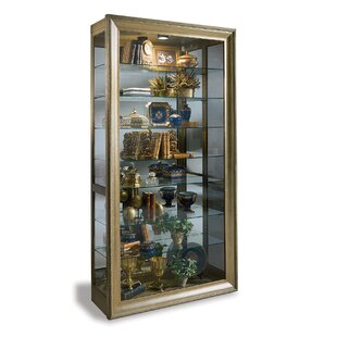 Philip Reinisch Co. Vermeer Lighted Curio Cabinet