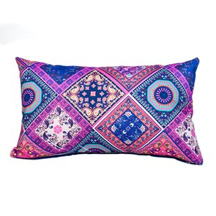 Abeyta Bandana Outdoor Lumbar Cushion By Latitude Vive