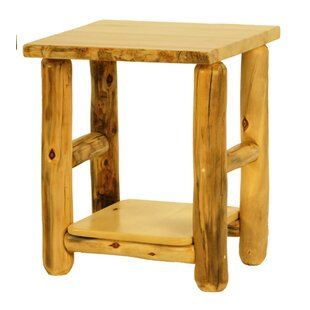 Rustic Arts� End Table by Mountain Woods Furniture