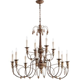 One Allium Way Paladino 12-Light Chandelier