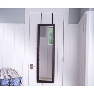 Clinch Over the Door Jewelry Armoire with Mirror by Ebern Designs